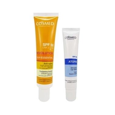 Cosmed Sun Essential SPF50 Anti Aging Cream 40ml Set Renksiz